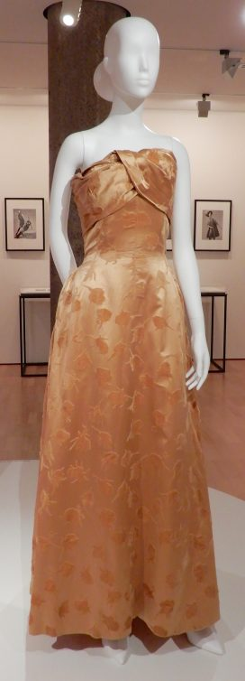 53.Balenciaga, ball gown 1955