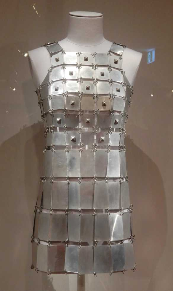62.Paco Rabanne, mini dress 1967