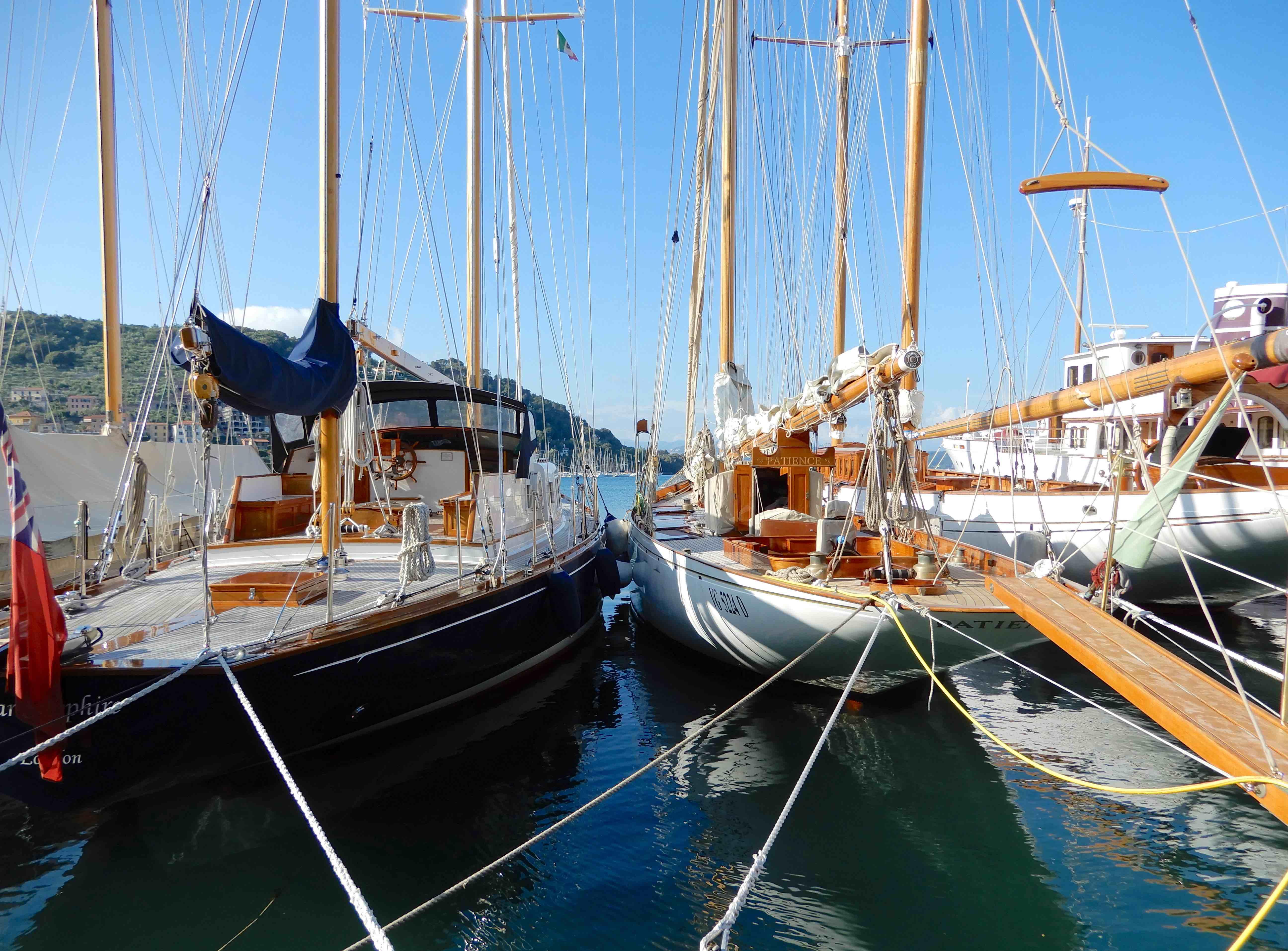 9.yachts, Le Grazie harbour