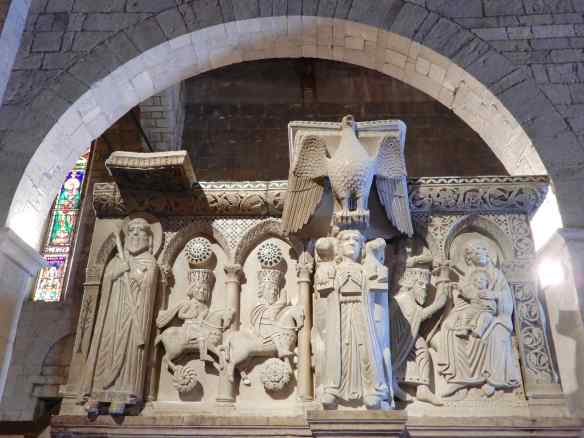 13.pulpit, The Four Evangelists