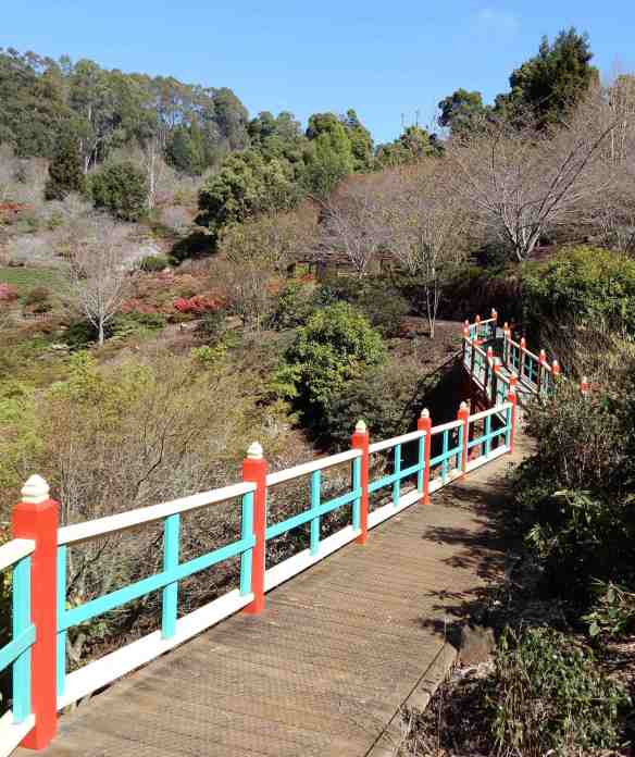 26.Japanese foot bridge