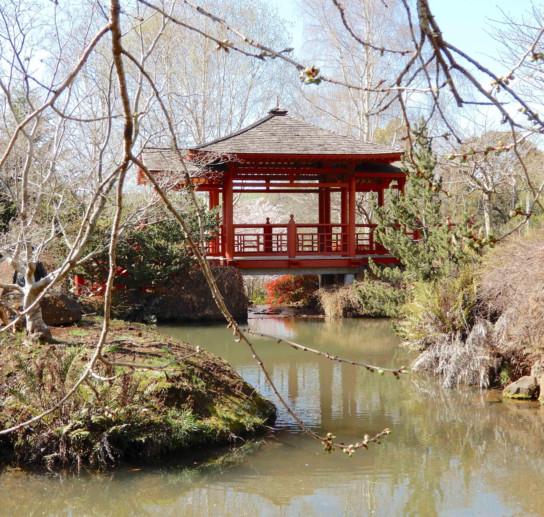 44.Japanese covered bridge