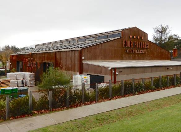 1.Four Pillars Distillery