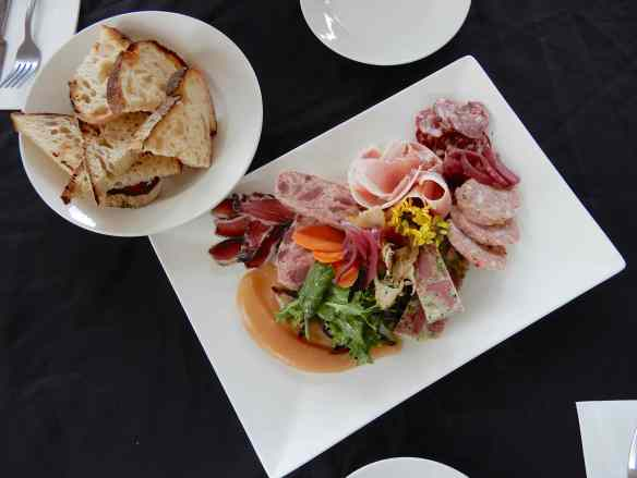 21.French Charcuterie shared plate