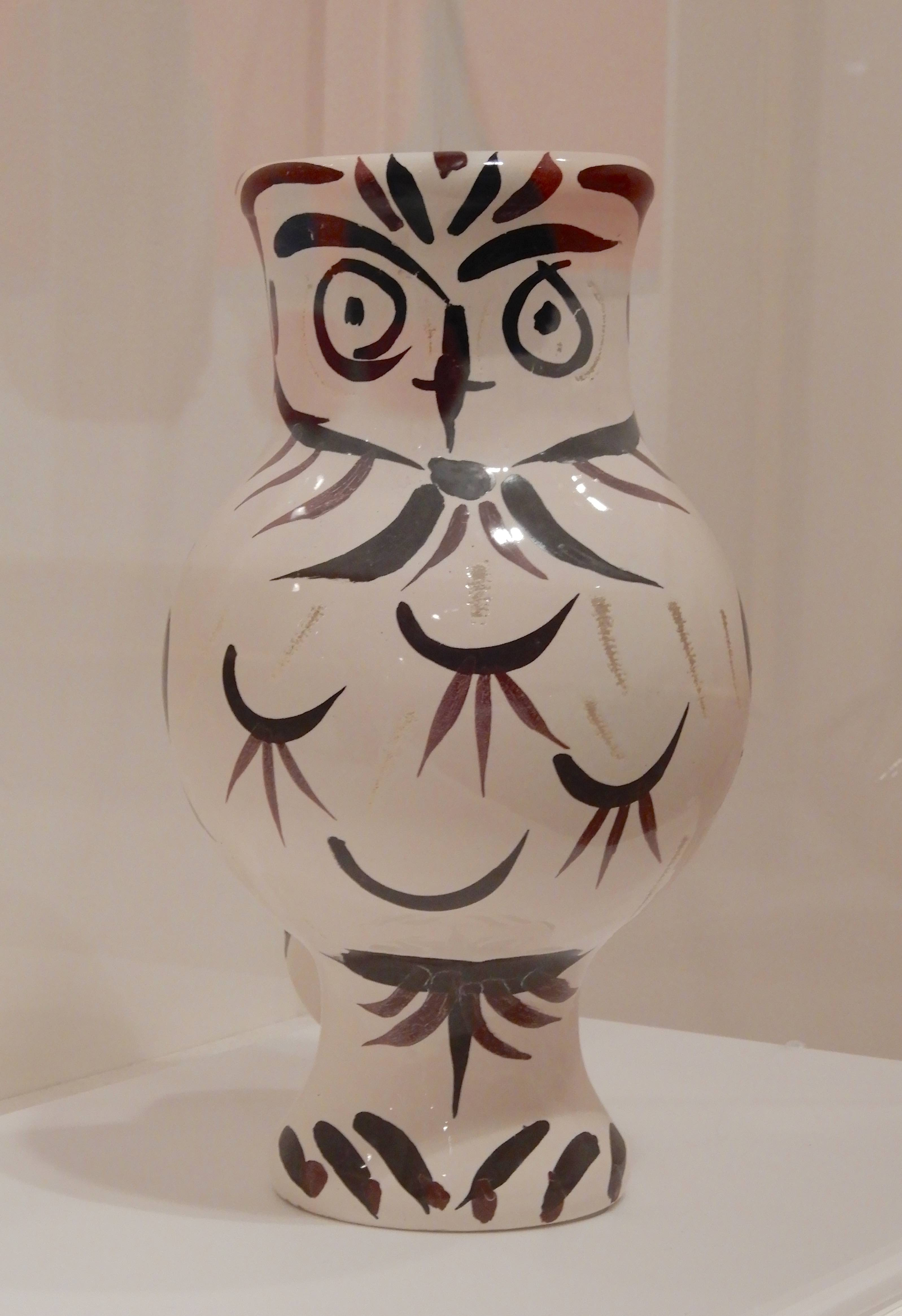 6.Owl vase 1951