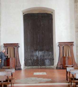 64.confessionals and door