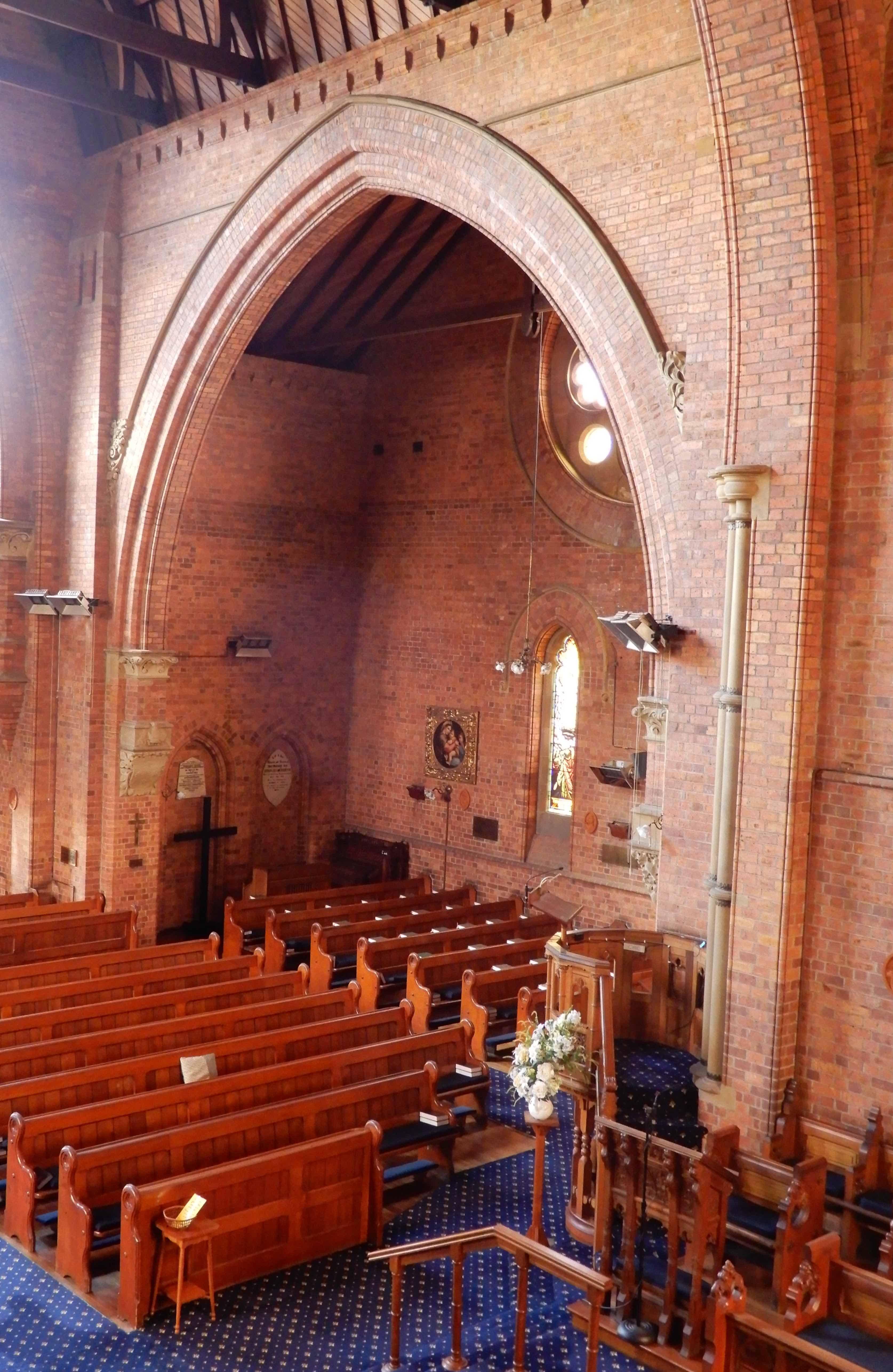 25.north wall from organ loft