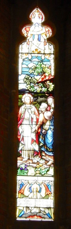 32.north wall stained glass