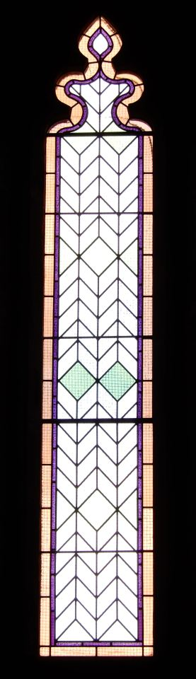34.north wall stained glass