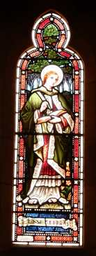 37.south wall stained glass