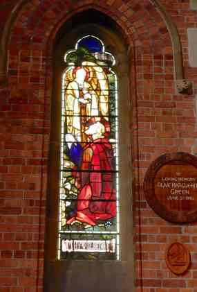 50.stained glass & memorial