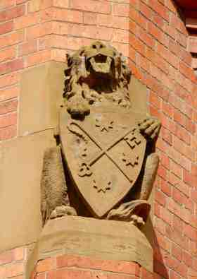 7.lion with Coat of Arms of Anglican Diocese of Tasmania