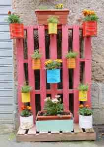 64.vertical garden