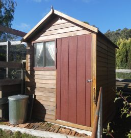 3.chook shed