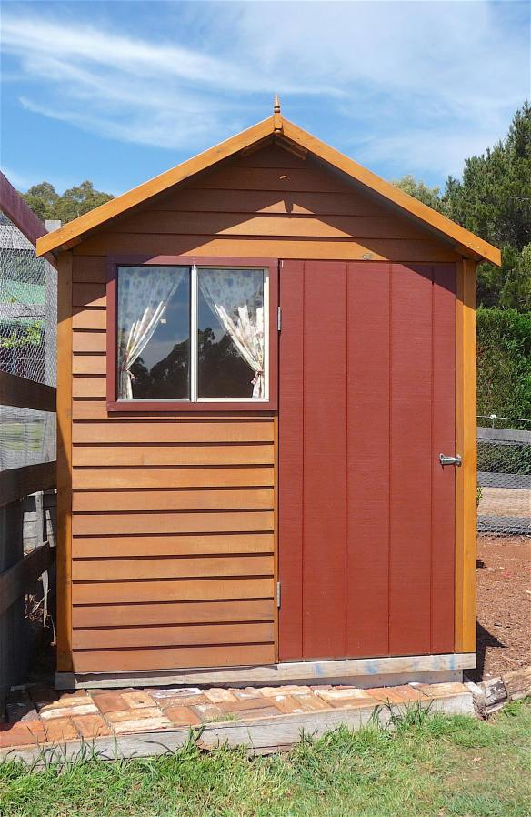 36.chook house