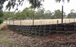 38.retaining wall after