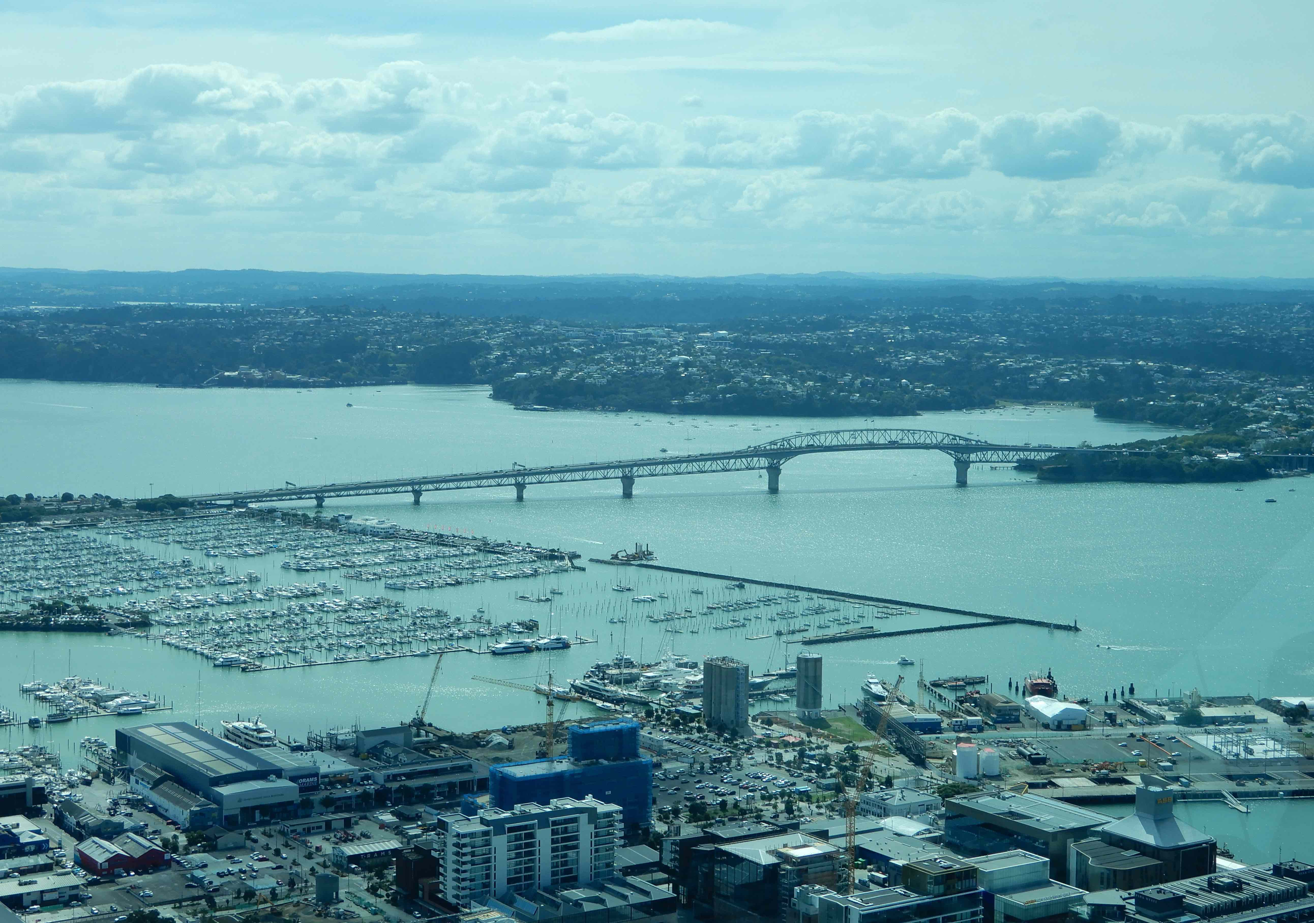 8.Westhaven Marina & Auckland Harbour Bridge