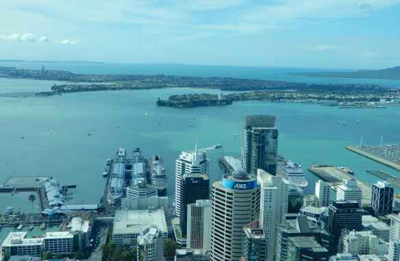 9.Waitemata Harbour & Princes Wharf