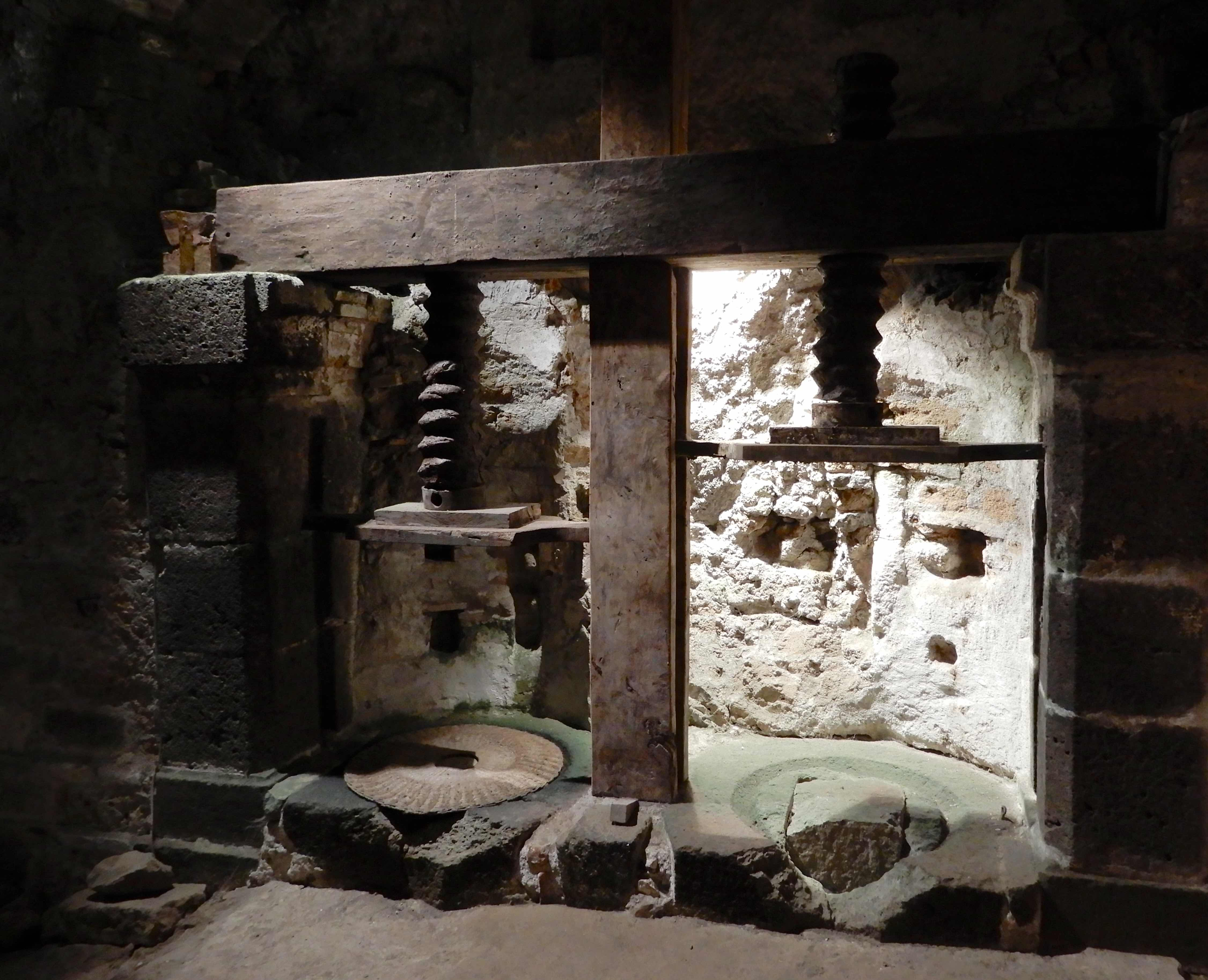 3.olive press